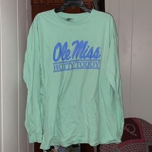 Ole Miss long sleeve T-shirt
